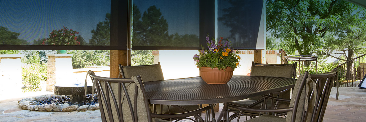 Our outdoor shades are highly durable and attractive